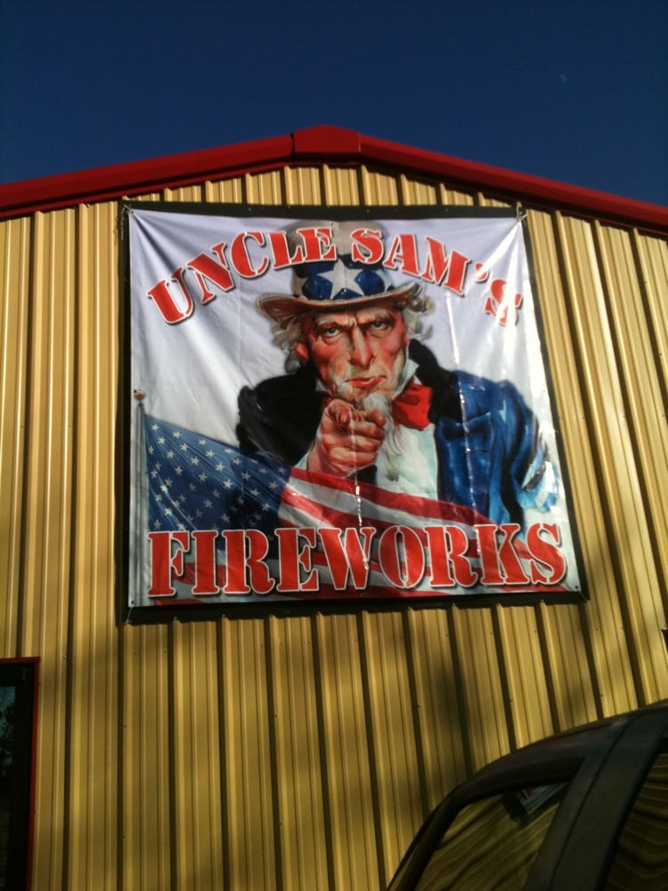 Uncle Sam's Fireworks: 5000 Highway 49 N, Jonesboro, AR