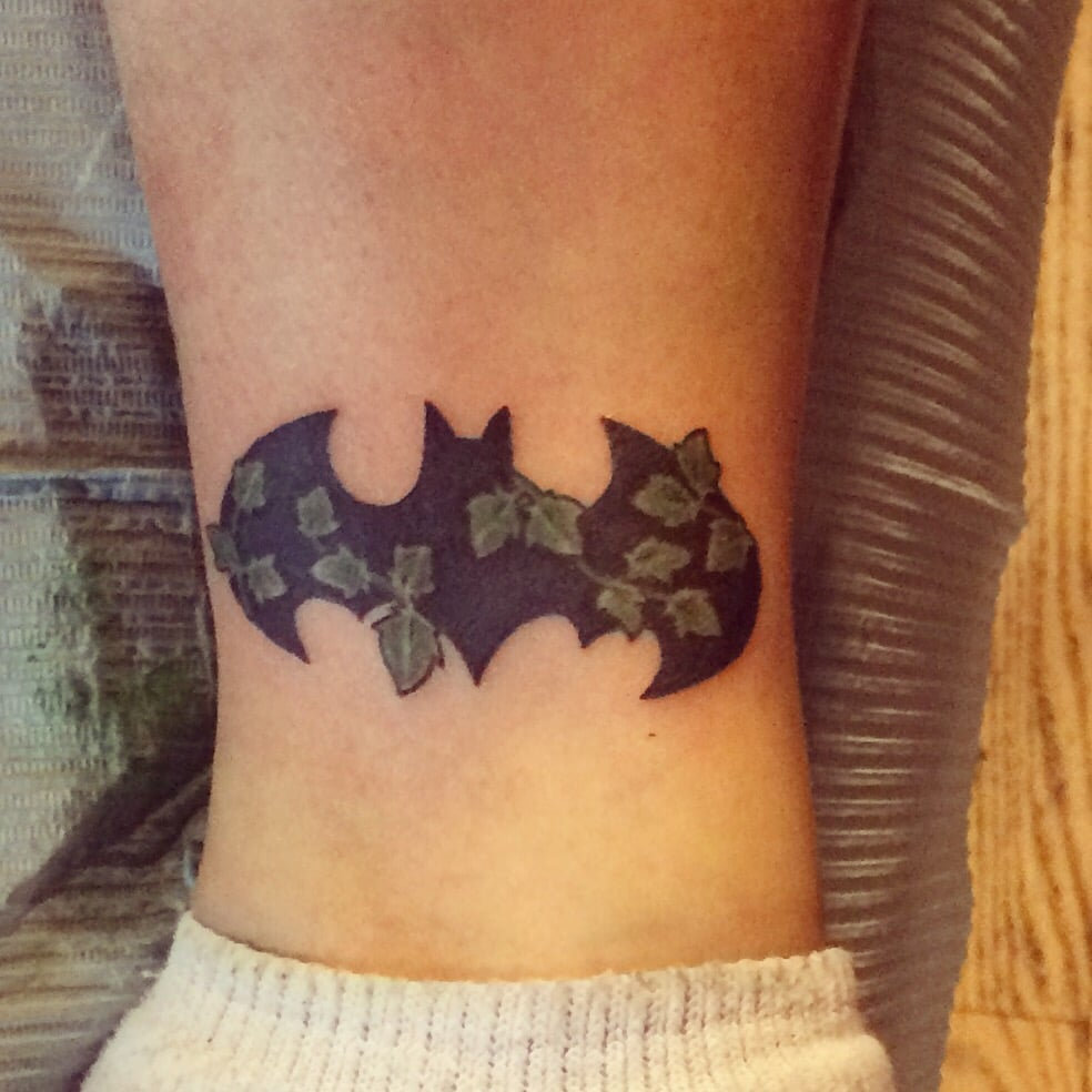 My Batman Poison Ivy Tattoo From Val Another Amazing Piece From Him