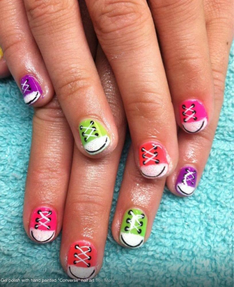 Nail Art Couture Converse Nail Art: Converse Nail Art By Sherrie