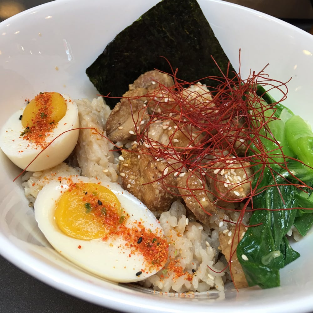 This Is The Ramen Rice Bowl Without Scallions And Bean