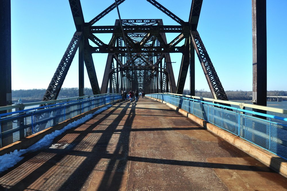 Old Chain of Rocks Bridge: 10950 Riverview Dr, Saint Louis, MO