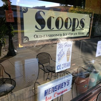 Scoops old fashioned ice cream 66