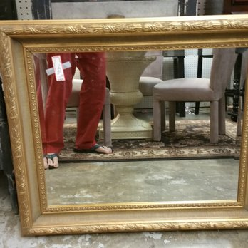 Perfect Photo Of Red Collection The   Greensboro, NC, United States. A Gilded Mirror