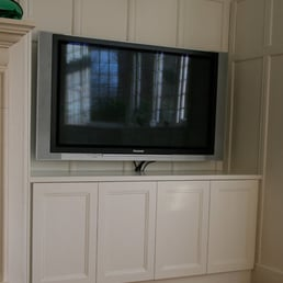 Great Photo Of Aesthetic Interiors.com   London, United Kingdom. Panelled Tv  Alcove