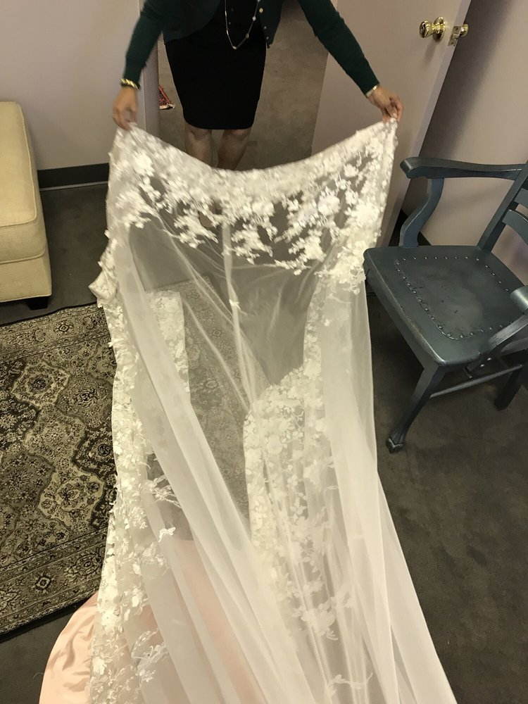 Train on my wedding dress for 10/14 - Yelp