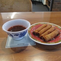 Photo Of Magic Kitchen   Springfield, IL, United States. Egg Rolls With  Peanut