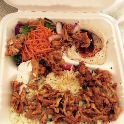 Photo Of Z Garden   Santa Monica, CA, United States. Chicken Shawarma.
