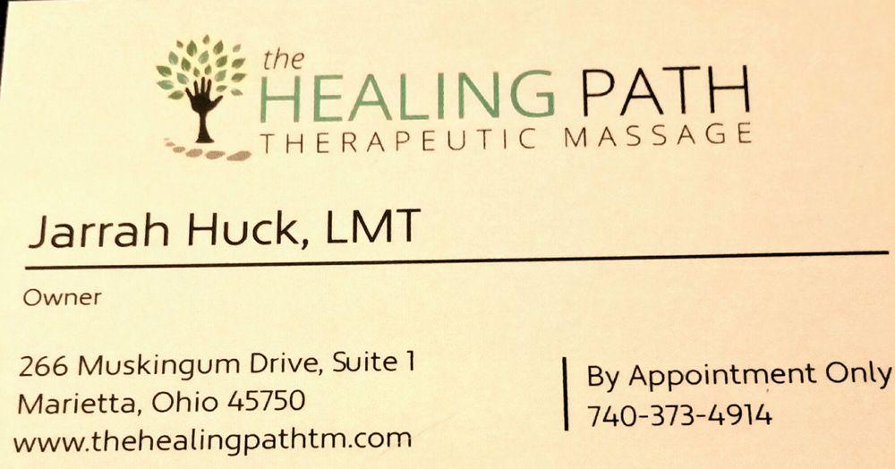 The Healing Path Therapeutic Massage: 266 Muskingum Dr, Marietta, OH