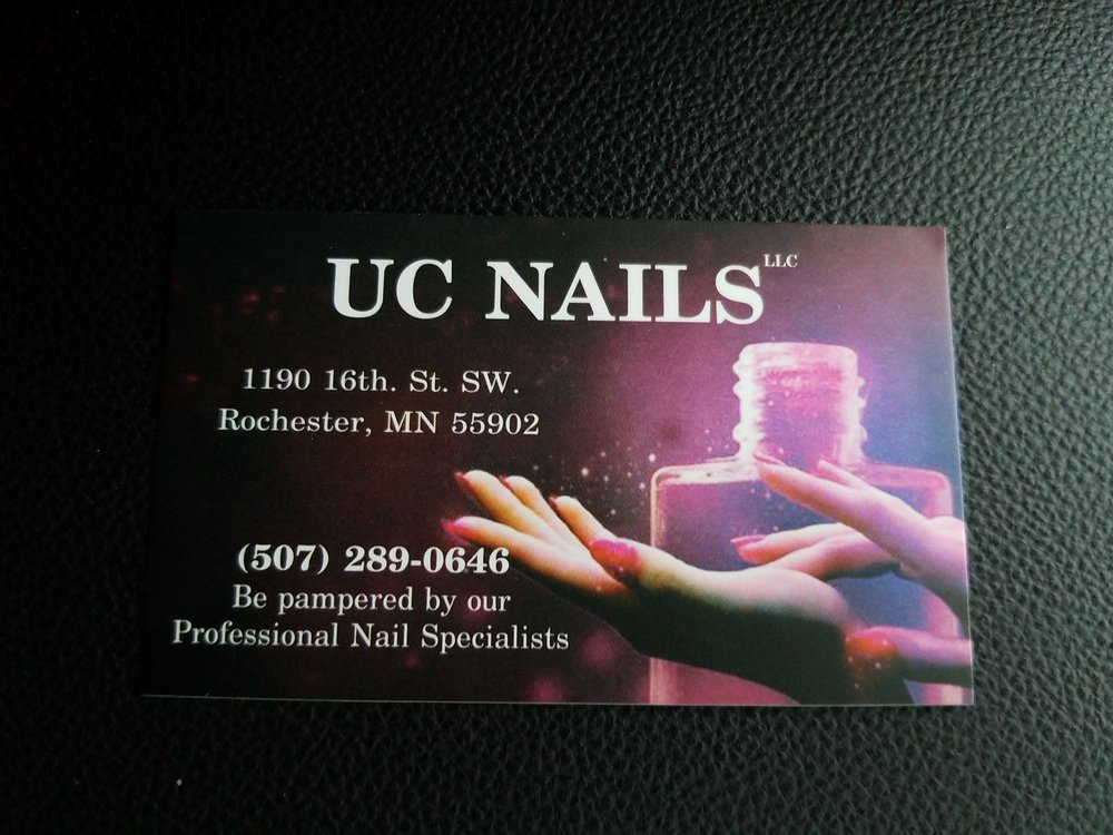 UC Nails: 1190 16th St SW, Rochester, MN