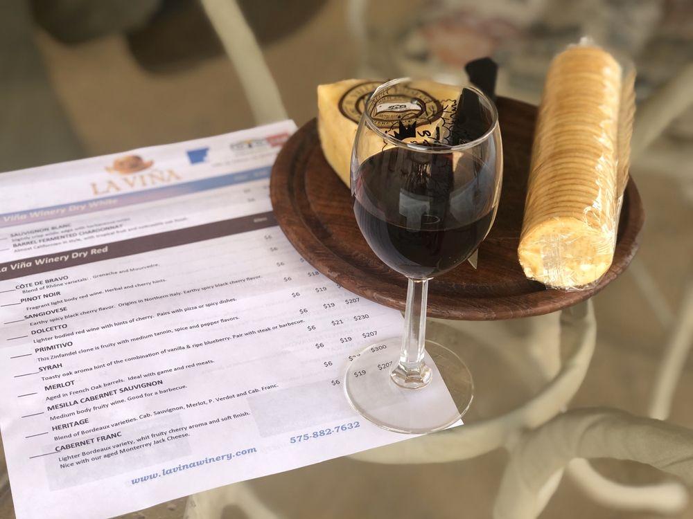 La Viña Winery: 4201 Hwy 28, Anthony, NM