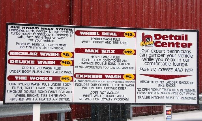 Car Wash Barn Pay