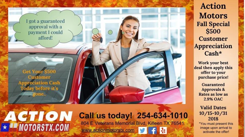 Action Motors - 22 Photos - Used Car Dealers - 804 E Veterans Memorial Blvd, Killeen, TX - Phone Number - Yelp