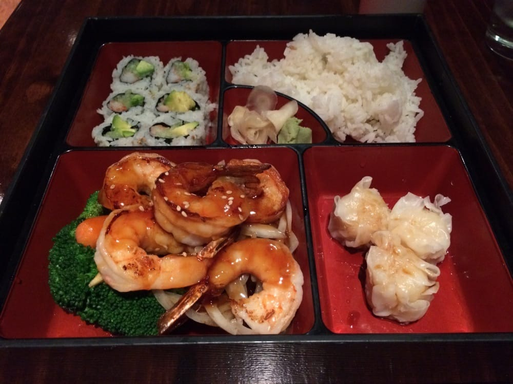 teriyaki shrimp lunch bento box yelp. Black Bedroom Furniture Sets. Home Design Ideas