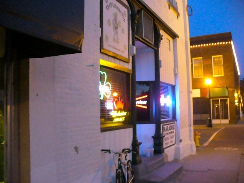 The Irishman Pub: 100 N Howard St, Indianola, IA