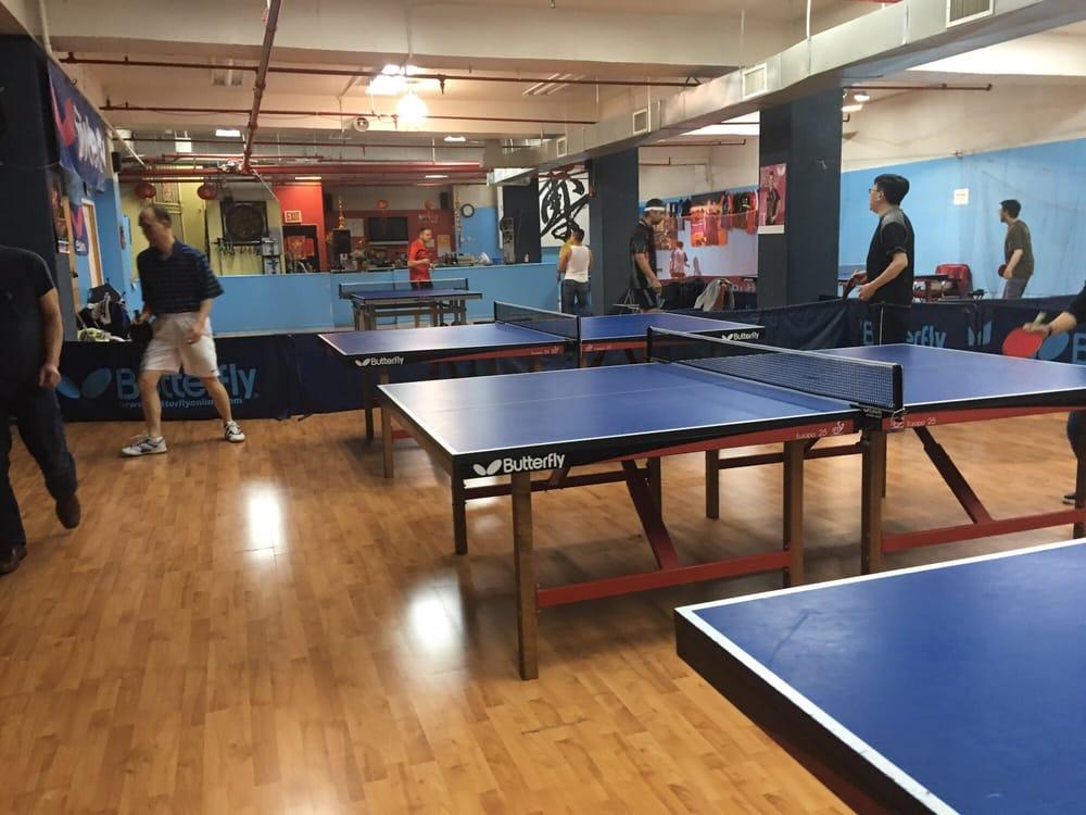 New York International Table Tennis Center: 134-34 35th Ave, Flushing, NY