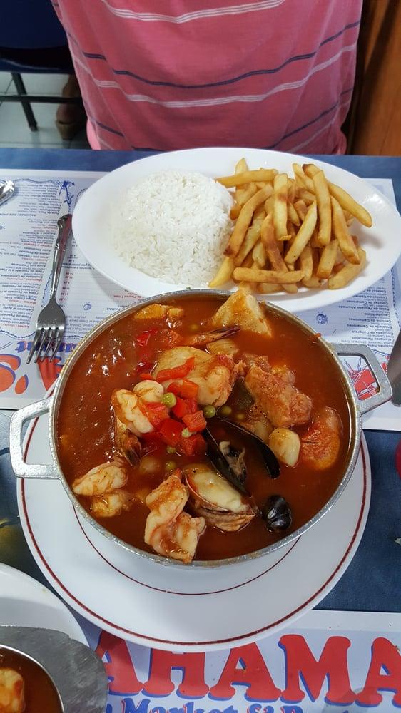 Zarsuela omg yelp for Bahamas fish market