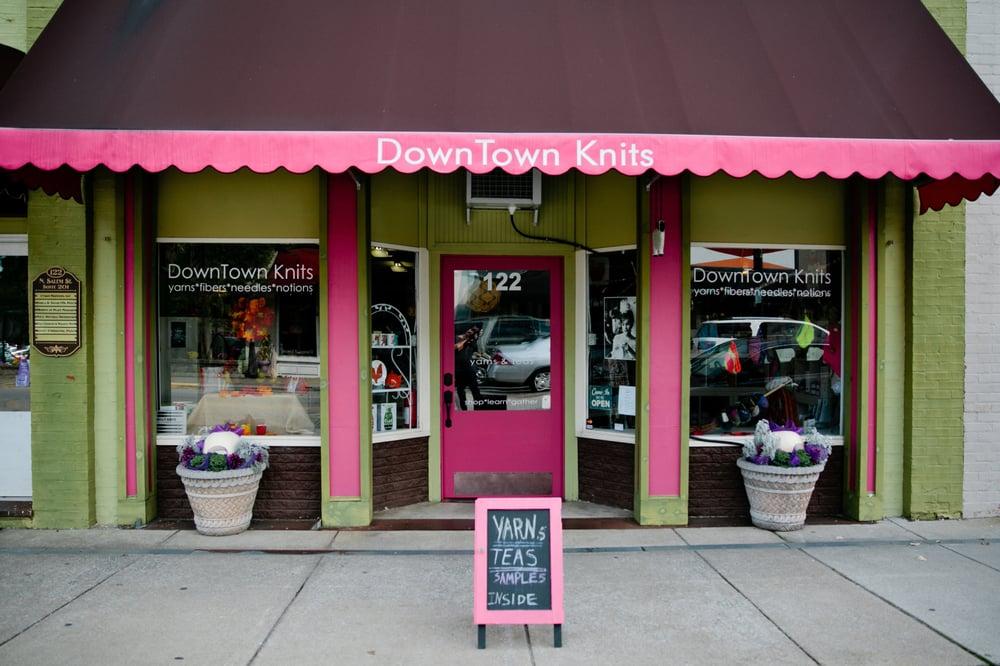 DownTown Knits: 122 N Salem St, Apex, NC