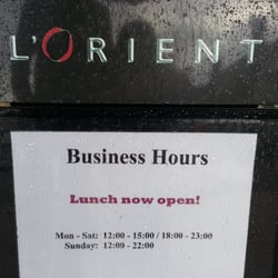 L\'Orient Restaurant - CLOSED - Chinese - 58 High Street, Pinner ...
