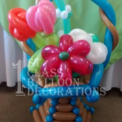 First class balloon decorations 13 photos balloon for Balloon decoration classes