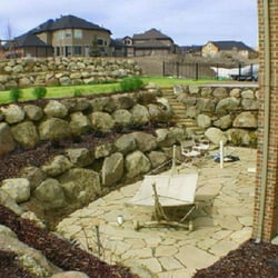 rock wall landscaping flagstone photo of boulder mountain rock walls pleasant grove ut united states utah landscaping 582 300th n