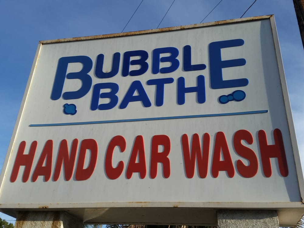 Bubble Bath Car Wash Near Me