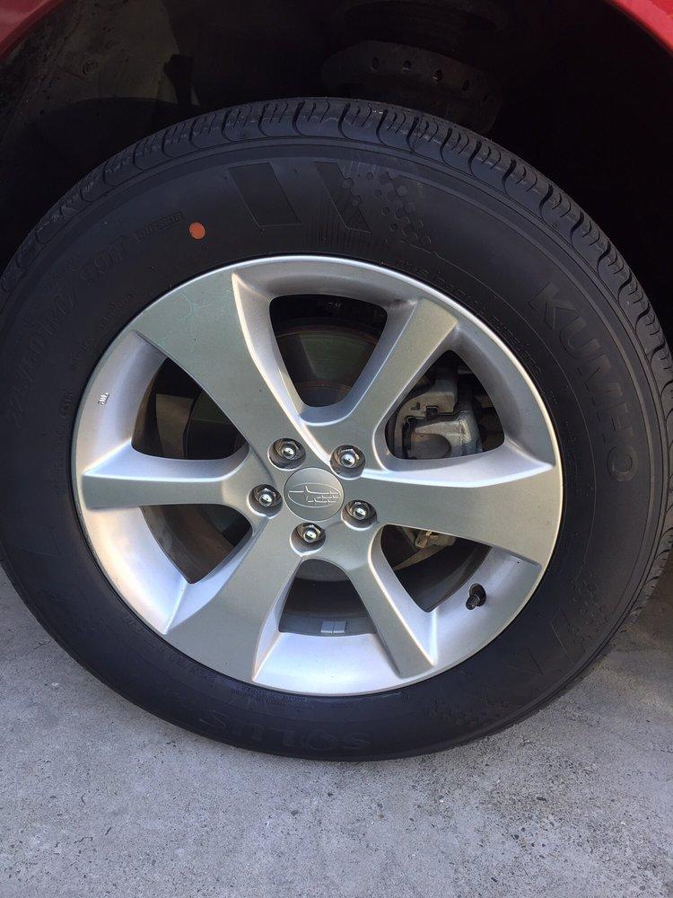 Brand New Kumho Ta11 Tire On A 2014 Subaru Outback Yelp