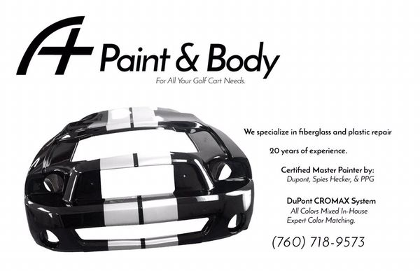 A Plus Paint and Golf Cart Repair 74841 Velie Way Palm