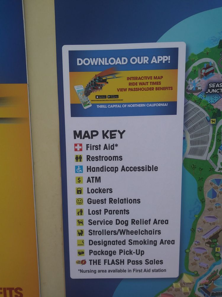 Map key - Yelp