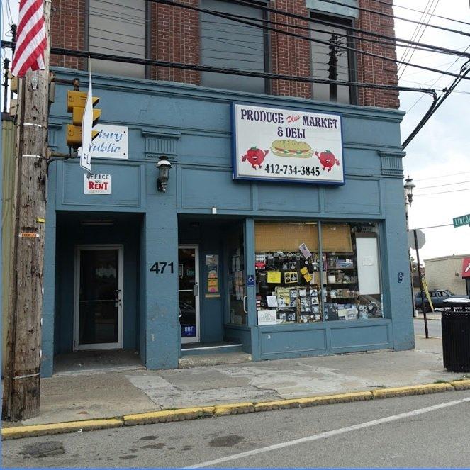 Produce Plus Market and Deli: 471 Lincoln Ave, Bellvue, PA