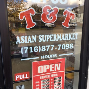 supermarket T asian and t
