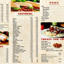 A1 pizza fall river ma menu