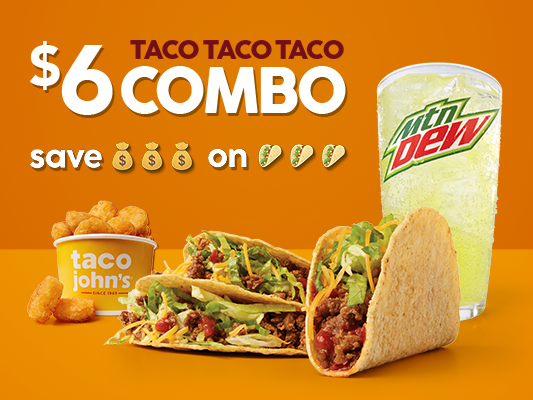 Taco John's: 609 Medary Ave, Brookings, SD