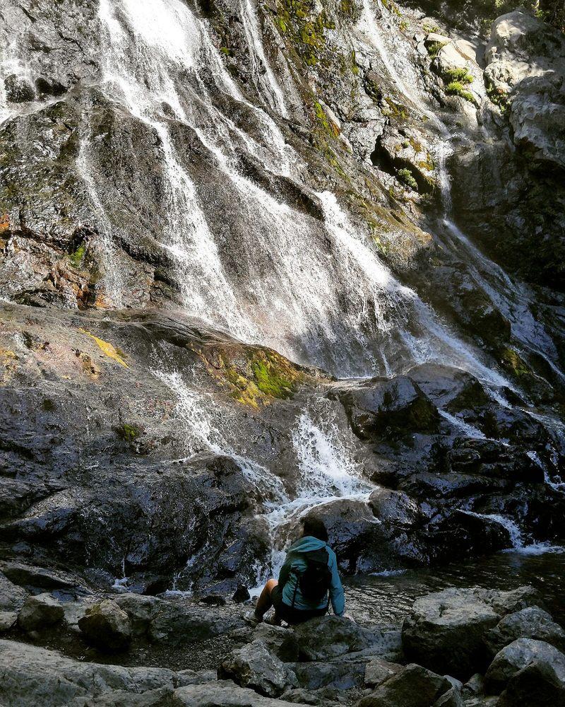 Rocky Brooks Falls: Dosewallips Rd Hwy 101, Brinnon, WA