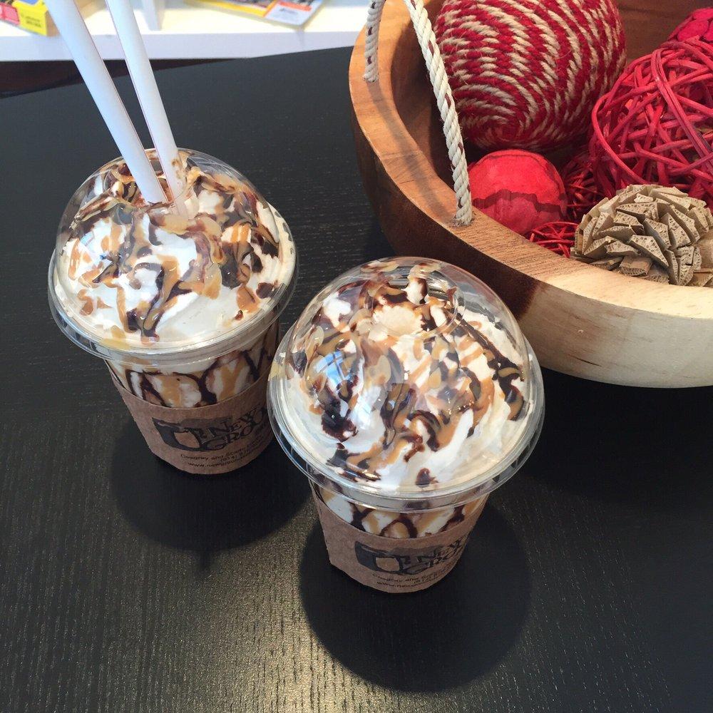 Frozen Buckeye Latte
