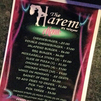 The harem fort wayne indiana