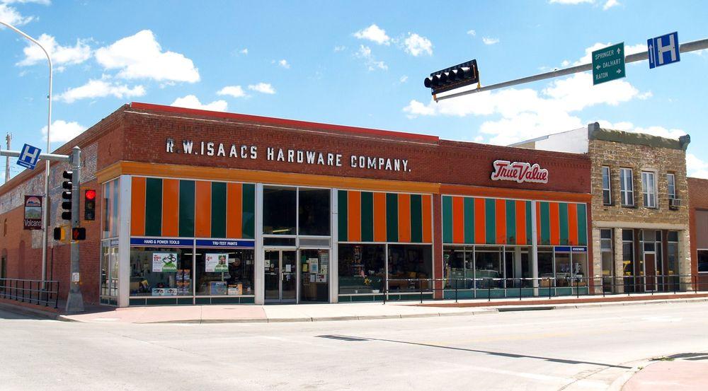 RW Isaacs True Value Hardware: 22 Main St, Clayton, NM