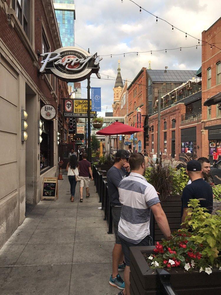 Greektown Historic District: Monroe St, Detroit, MI