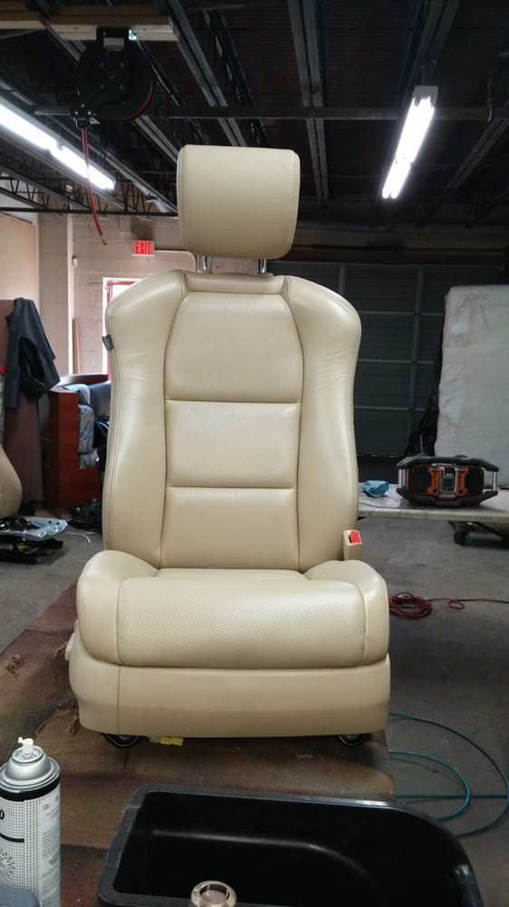 leather medic 12 photos furniture reupholstery 7300 westmore rd rockville md phone. Black Bedroom Furniture Sets. Home Design Ideas