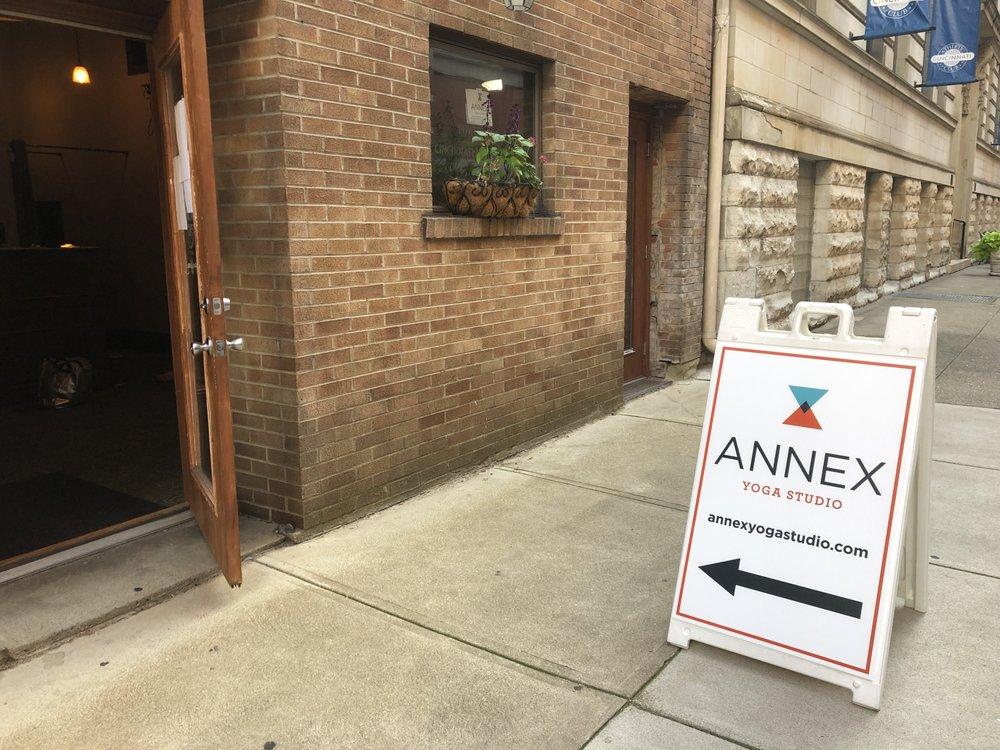 Annex Yoga Studio: 111 Shilito Pl, Cincinnati, OH