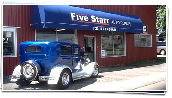 Five Starr Auto Repair: 321 Broadway Ave N, Foley, MN