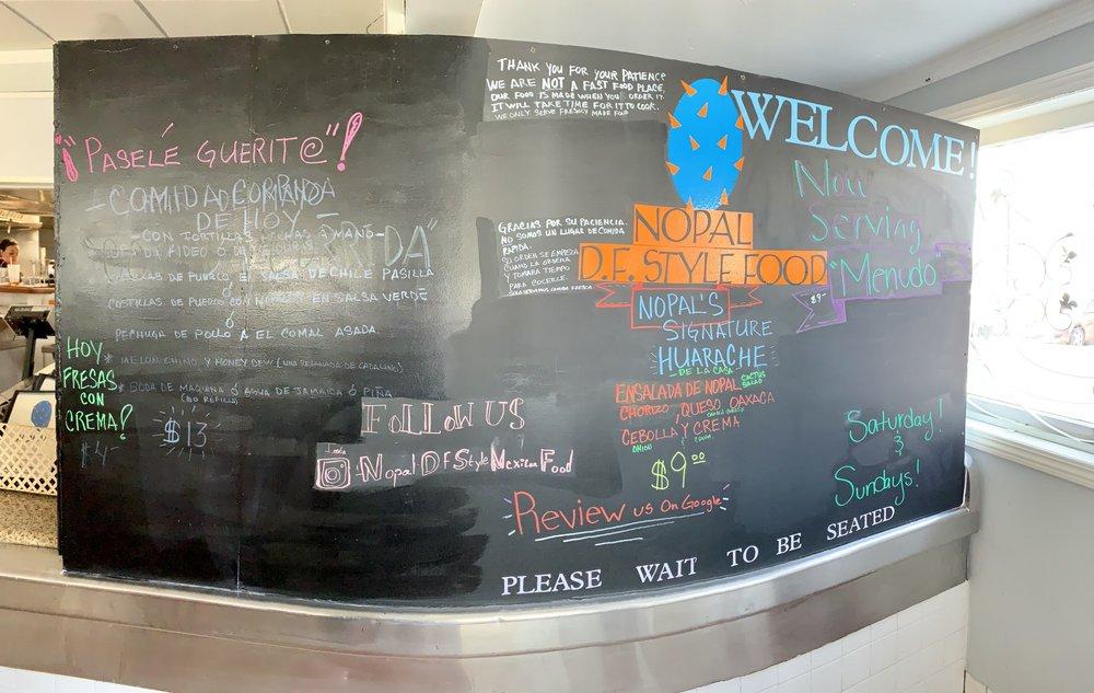 Nopal D F Style Mexican Food: 265 W Highland Ave, SAN BERNARDINO, CA