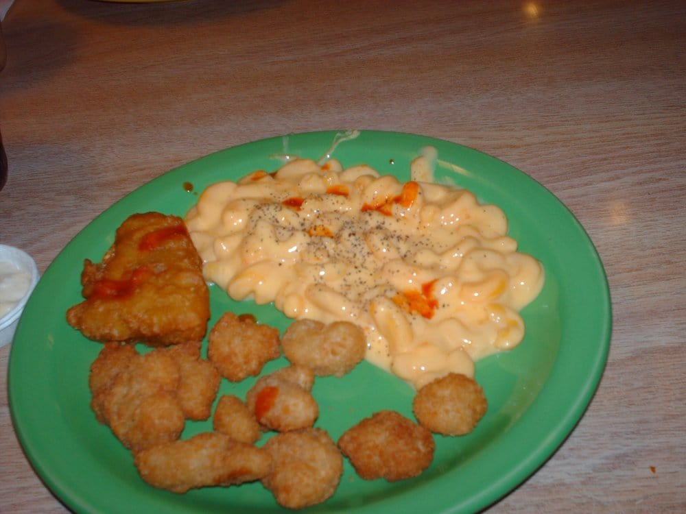 Fried fish and mac and cheese good popcorn shrimp way to for Good fried fish near me