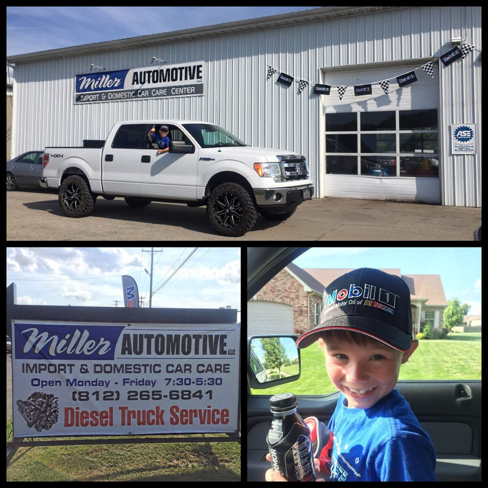 Miller Automotive Sales & Service: 1215 Clifty Dr, Madison, IN