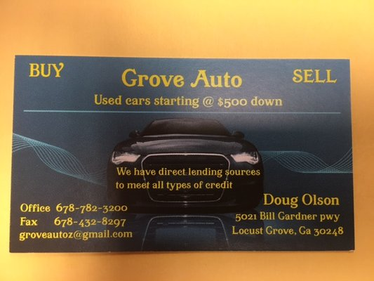 Grove Auto Car Dealers 5021 Bill Gardner Pkwy Locust Grove Ga