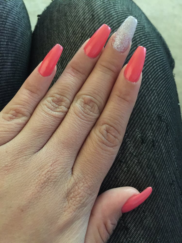 Loving my coffin shaped nails! - Yelp