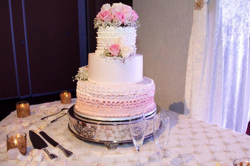 Best (non-fondant) Wedding Cake Ever! - Yelp