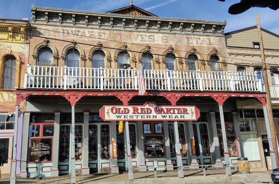 Old Red Garter