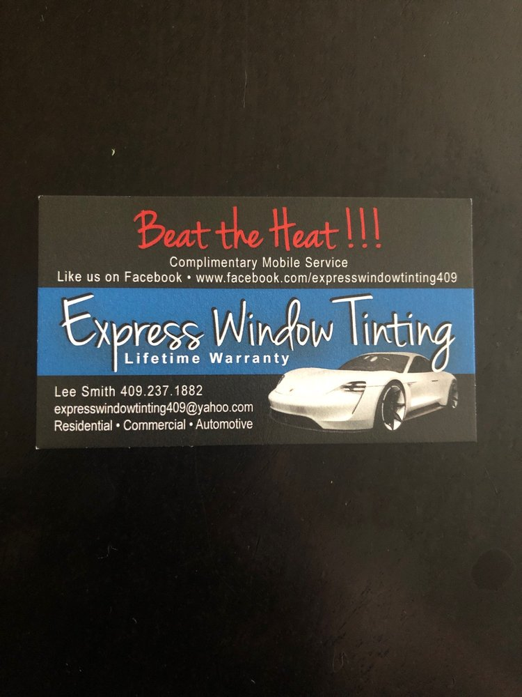 Express Window Tinting: Galveston, TX