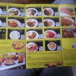 Yardies Restaurant Menu