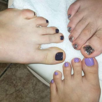 Photo Of La Nails Wilmington Nc United States Guess Which Foot Is